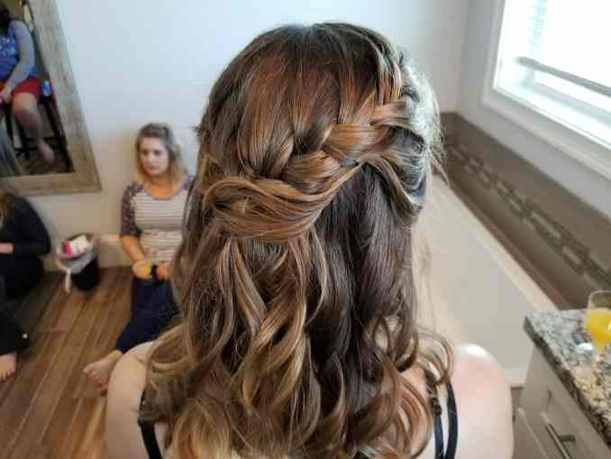 weddings - destin hair studio