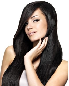 Wonderful natural black human hair extensions