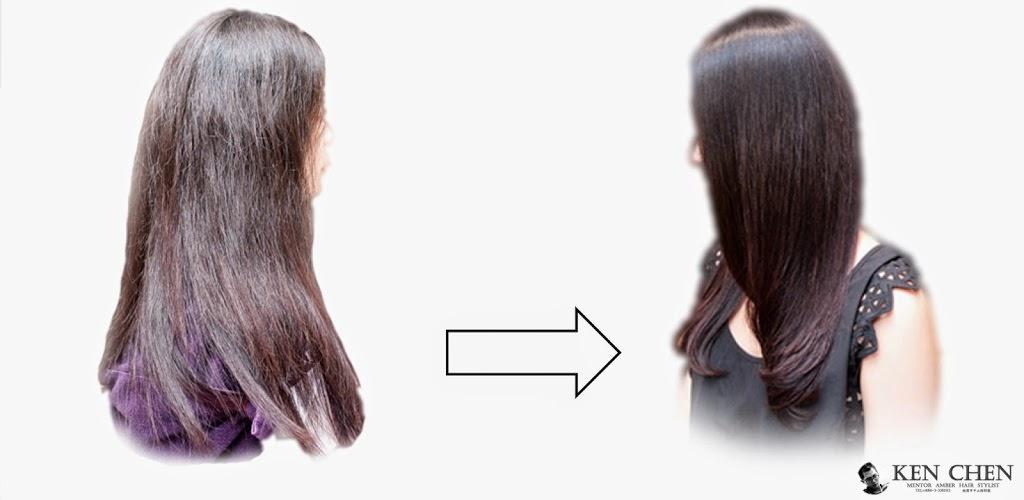 自然捲頭髮該如何整理【基礎觀念】-長髮自然微彎作品