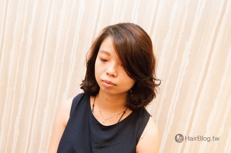 2017年女生中長髮燙髮作品
