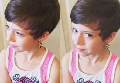 Little Girls Long Haircut Photos