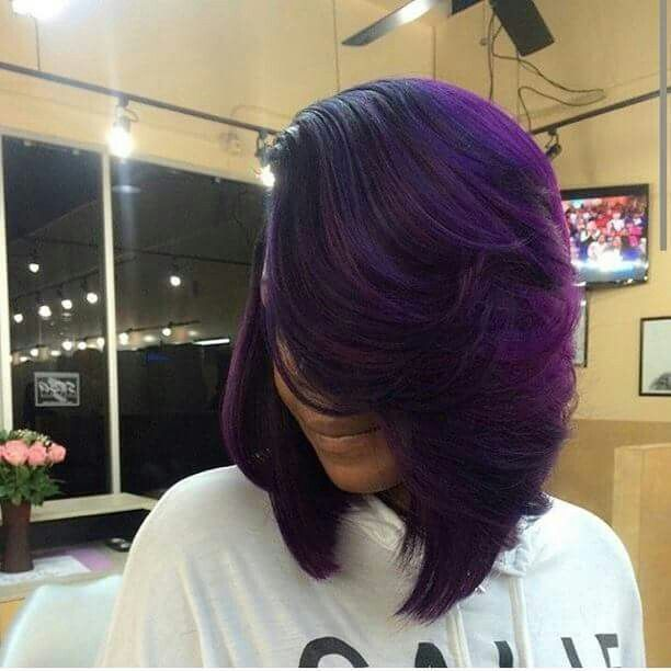 Asymmetrical Color Bob Sew Ins Short Hairstyle 2013
