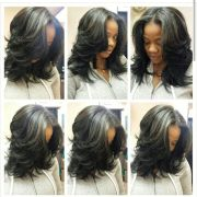 chic sew-in hairstyles black