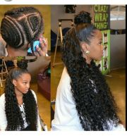 chicest sew-in hairstyles