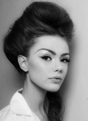 jaw-dropping beehive hairdos