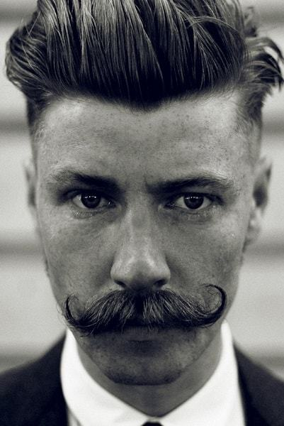 Go Vintage 20 Men's Hairstyles From 1920's