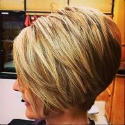 flawless short stacked bobs