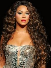 radiant curly weave hairstyles