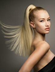 beautiful high ponytail hairstyles