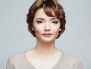 flattering long pixie hairstyle