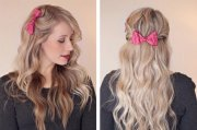cutest bow hairstyles girls
