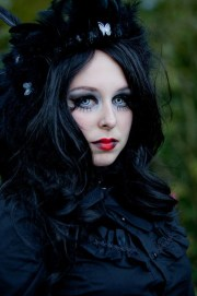 outrageous gothic hairstyles