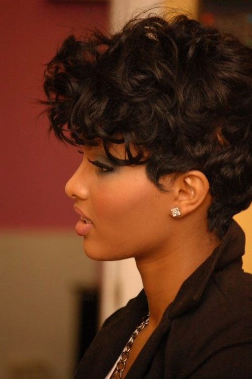 101 Boldest Short Curly Hairstyles For Black Women 2020