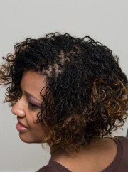 cute & quick sisterlocks hairstyles