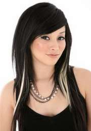 original black hair with blonde