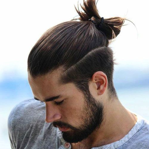 20 Fabulous Ponytail Hairstyles for Men 2018