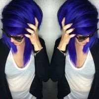 10 Beautiful Blue and Purple Hair Color Ideas  HairstyleCamp