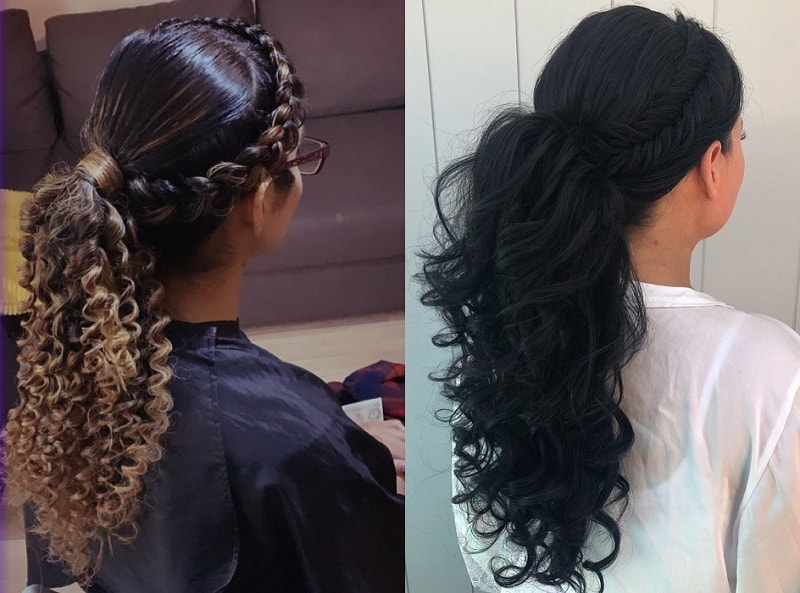 23 Flattering Curly Ponytail Hairstyles Trending In 2020