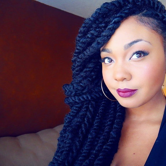 31 Startling Jumbo Twists to Glam Up Instantly  HairstyleCamp
