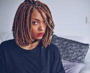 lively short box braid styles