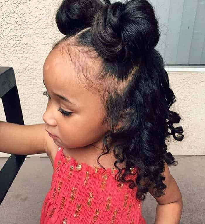 25 New African American Black Toddler Girl Hairstyles 2020
