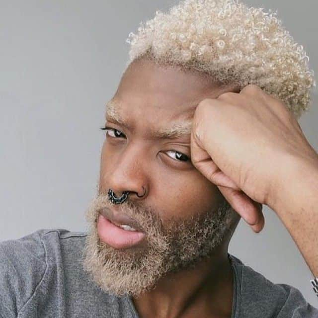 10 Awesome Blonde Hairstyles For Black Guys
