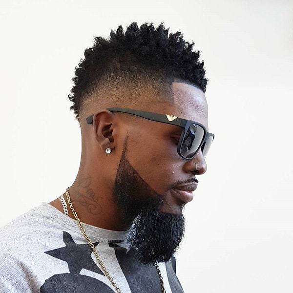40 Image Defining Mohawk Hairstyles For Black Men Hairstylecamp