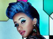 exotic blue hairstyles black