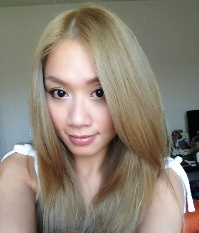 Asian Dirty Blonde Hair