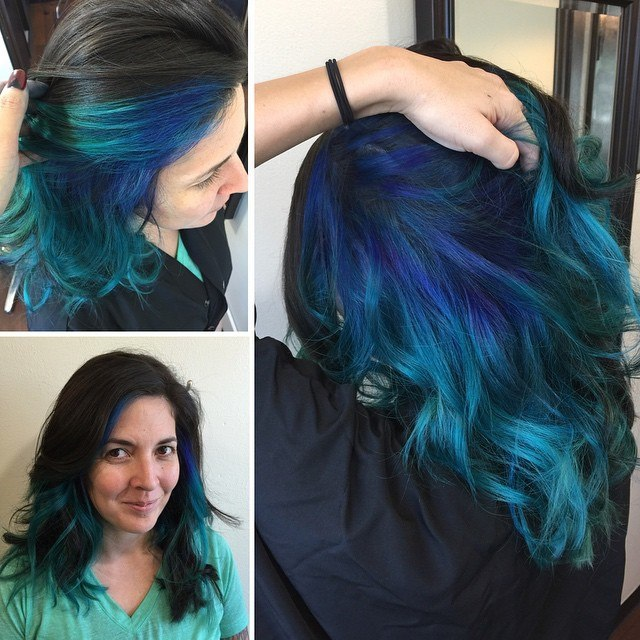 How to dye your hair blue black the best hair 2017 the 25 best blue black hair color ideas on urmus Image collections
