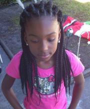 gorgeous box braids kids
