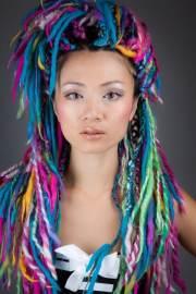epic colorful box braids