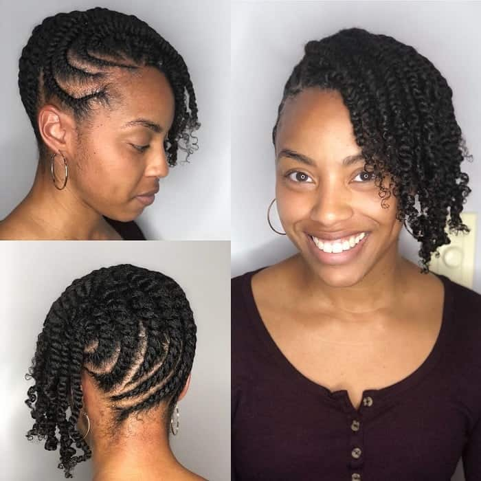 21 Classy Flat Twist Hairstyles To Boost Up Your Look