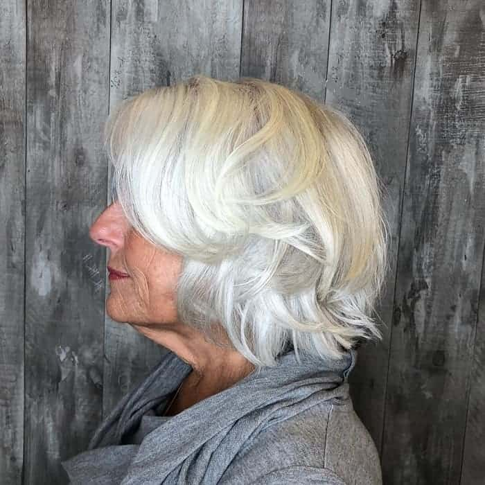 21 Chic Grey Hairstyles Ideal For Over 60 Women Hairstylecamp