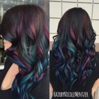 15 Sumptuous Peekaboo Hair Color Ideas - HairstyleCamp