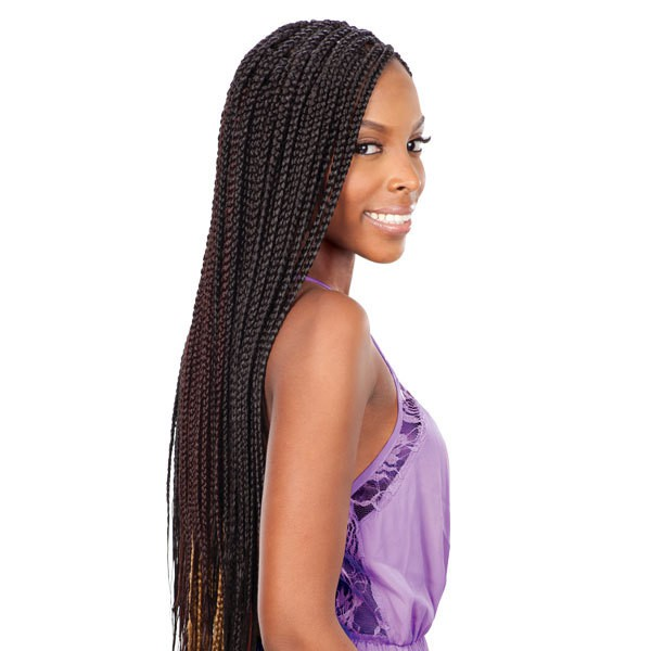 12 Artistic Medium Box Braids Women Love  HairstyleCamp