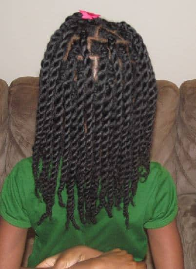 7 Cute Easy Natural Hairstyles For Your Little Girls Hairstylecamp