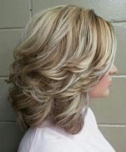 current medium long hairstyles