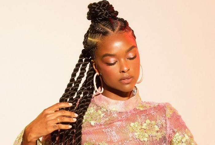 40 Of The Hottest Stitch Braids Hairstyles 2020 Guide
