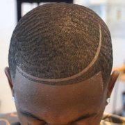 unique line hairstyles