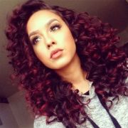 crazy curly hair colors