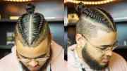 5 two braided man bun hairstyles