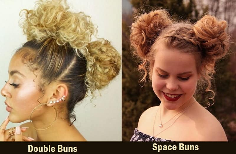 25 Cutest Two Bun Hairstyles For Women Hairstylecamp