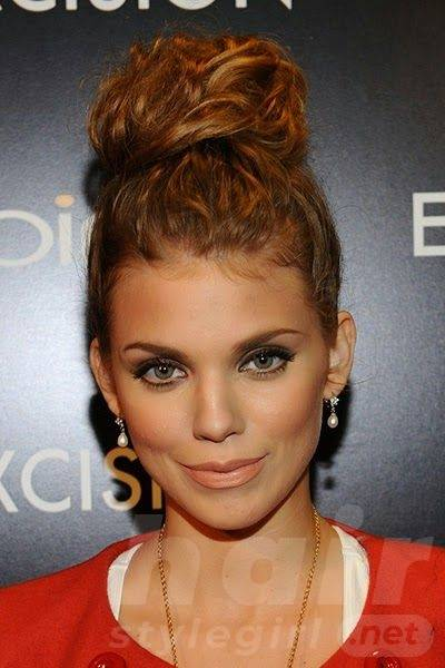 Simple And Stunning Updo Hairstyles For Curly Hair Hair Style