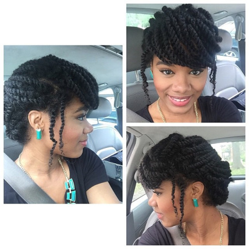 Twist Hairstyles For Natural Hair Twist Braided Styles