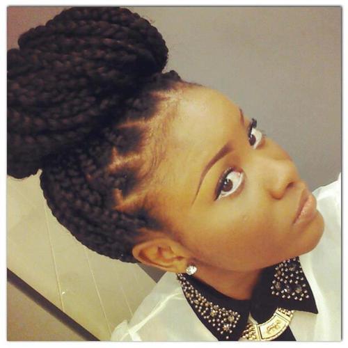 24 Chic Box Braid Hairstyles To Wear!