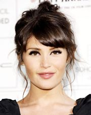 gorgeous side swept bangs hairstyles
