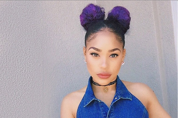 Bun Hairstyles With Weave