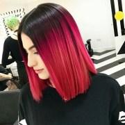 glamorous black ombre hair styles