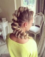 braided mohawk styles turn